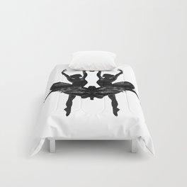 Rorschach Ballerina Comforters