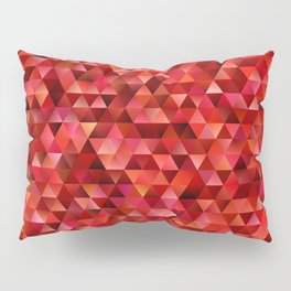 Bloody triangles Pillow Sham