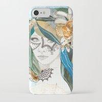 aqua iPhone & iPod Cases featuring Aqua by Jenndalyn