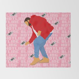 Hotline Throw Blanket