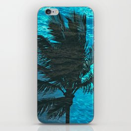SWIMMING PALM iPhone Skin