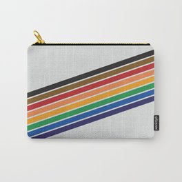 Unruly Pride Rainbow Stripe Carry-All Pouch