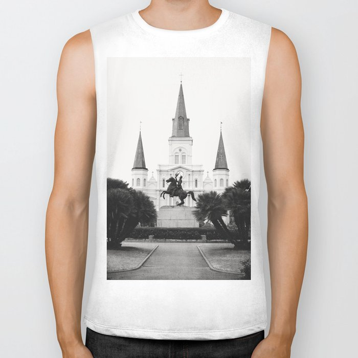 Heart and Soul of New Orleans Biker Tank