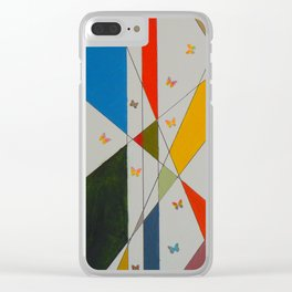"""""""Moths to Light"""" Clear iPhone Case"""