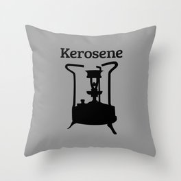 Kerosene Pressure Stove Throw Pillow