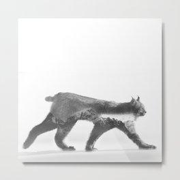 Jinx Lynx Metal Print