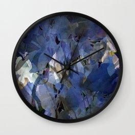 Moody Blooms Wall Clock