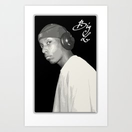 BIG L / Put It On Art Print