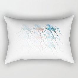 Mosquitoes. Vibrancy. Rectangular Pillow