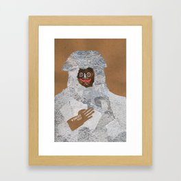 The Special Brown Framed Art Print