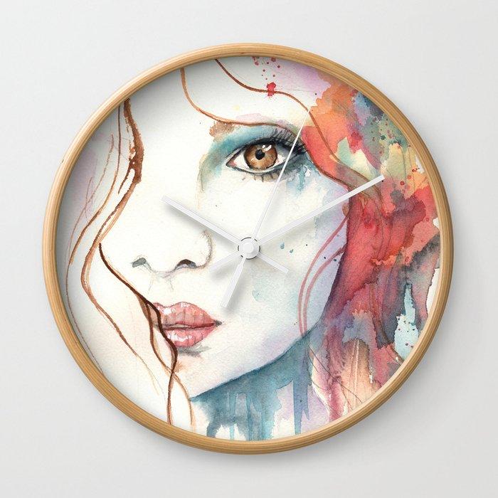 Girl ASD 01 Wall Clock