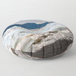 Blue Ice Floor Pillow