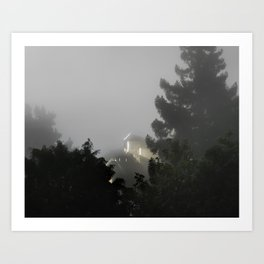 Incident at Grizzly Peak Boulevard Art Print