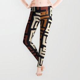 African Kuba Cloth Leggings
