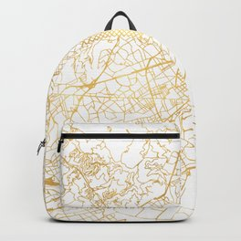 BARCELONA SPAIN CITY STREET MAP ART Backpack
