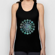 Floral Abstract 4 Unisex Tank Top