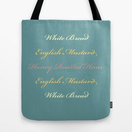 Ham and Mustard Tote Bag