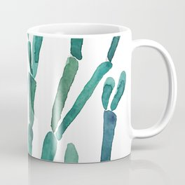 Succulent rhipsalis watercolor Coffee Mug