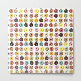 Eat all the donuts Metal Print