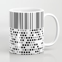Monochrome line art Coffee Mug