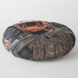Tractor Purgatory Floor Pillow