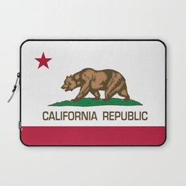 California Republic Flag - Bear Flag Laptop Sleeve