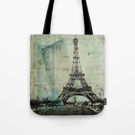With Love From Paris Tote Bag