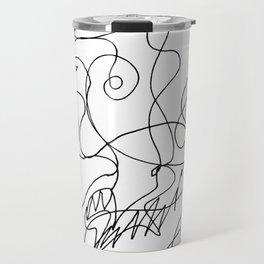 Sketching portraits Travel Mug