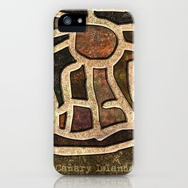 Ancestry / Map iPhone Case