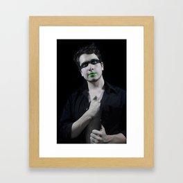 Verde Framed Art Print