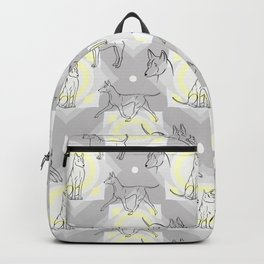 Thai Ridgeback Pattern Backpack