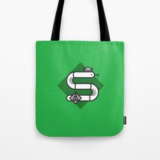 Slytherin House Crest Tote Bag
