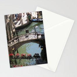 Bridges on Rio de le Procuratie in Venice Stationery Cards