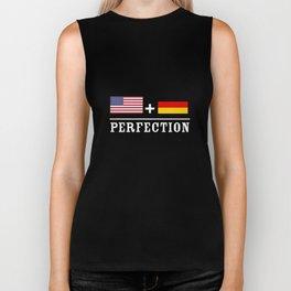 American German Perfection Flag Germany T-Shirts Biker Tank