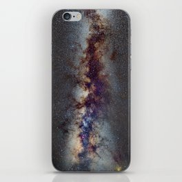 The Milky Way: from Scorpio and Antares to Perseus iPhone Skin