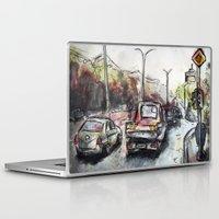 street Laptop & iPad Skins featuring Street by Jon Enko