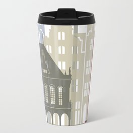 Bremen skyline poster Travel Mug