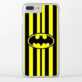 Bat Man Classic Clear iPhone Case