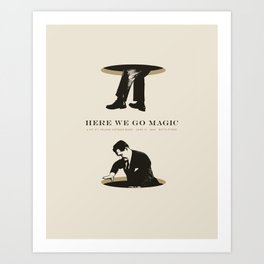 Here We Go Magic at the Bottletree Art Print