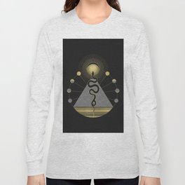 The Volcan by Night Long Sleeve T-shirt