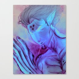 Glowing Fury Canvas Print