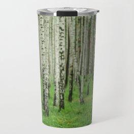 Forrest of white trees Travel Mug