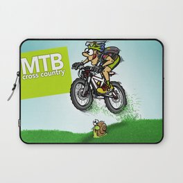MTB cross country Laptop Sleeve