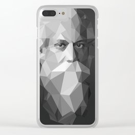 Rabindranath Tagore (7 May 1861 – 7 August 1941) Clear iPhone Case