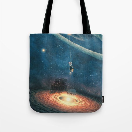 My dream house is in another galaxy Tote Bag