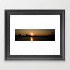 Philadelphia  Framed Art Print