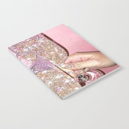 Sparkly Champagne Notebook
