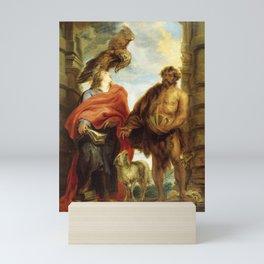 "Sir Anthony van Dyck ""The Two Saints John (Saints John the Baptist and John the Evangelist)"" Mini Art Print"