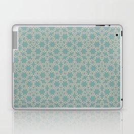 Mint and Cream Pastel Star Pattern Laptop & iPad Skin
