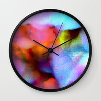 bed Wall Clocks featuring Majestic Bed by Tyler Spangler
